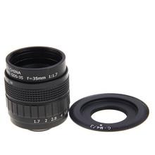 Buy FUJIAN 35mm CCTV F1.7 Lens + C-M4/3 Mount Ring Panasonic GF9 GF8 GF7 GF5 GF6 G3 G5 G7 GH2 GF3 GH4 GX7 GX8H GX8 G7H G7K for $23.74 in AliExpress store