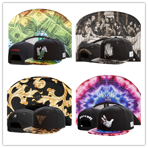Free shipping thousand styles cayler sons snapback best baseball cap fashion bone summer style hip hop hat cap gorras planas(China (Mainland))