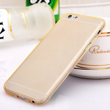 Ultra Thin Crystal High Clear Transparent Soft Silicone TPU Case Cover For Apple iphone 6 6s tpu phone cases cover For iphone6