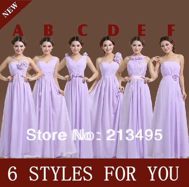 vestidos longo beautiful women chiffon formal dress unique evening long elegant lavender dresses gowns new fashion 2016 W878 - Beautiful happy Lady store