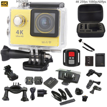 "Original sport camera H9/H9R Ultra HD 4K 25fps 170 Angle action Camera 2.0""Screen 1080p 60fps go pro style waterproof pro camera(China (Mainland))"