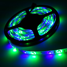 Buy Waterproof IP65 IP20 3528 RGB LED Strip LED Ribbon 5M 300 Tape Luminaria DC12V Car Home 48w Living Room Bedroom Decoration Light for $6.00 in AliExpress store