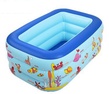 Children's inflatable baby pool ocean ball pool children fishing pond ,inflatale square swimming pool(China (Mainland))