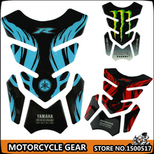 1pcs Free Shipping Tank Pad Tankpad Protector Sticker For Motorcycle Universal Multiple colors for choose(China (Mainland))
