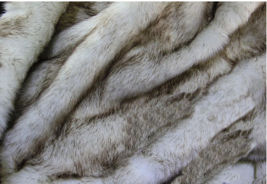 super soft imitation fox fur plush fabric 3 4cm pile faux fur fabrics white coloer dye tip felt. Black Bedroom Furniture Sets. Home Design Ideas