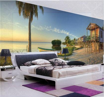 Casa sulla spiaggia carta da parati acquista a poco prezzo for Carta da parati prezzi bassi