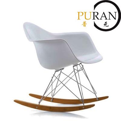 ABS Eames RAR Rocker chair,Eames Rocking chair,swing chair. Living room furniture. Furniture. Leisure chair.Design furniture(China (Mainland))