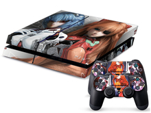 EVANGELION PS4 Sticker PS4 Skin PS4 Stickers + 2Pcs Controller Skin Console Stickers PS4 Protective Skin