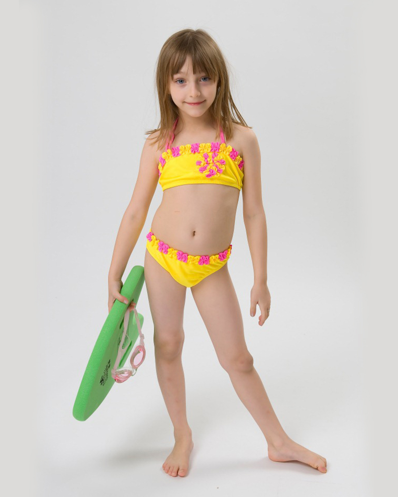 Little Girls in Swimwear 2015 Summer Girls Swimwear