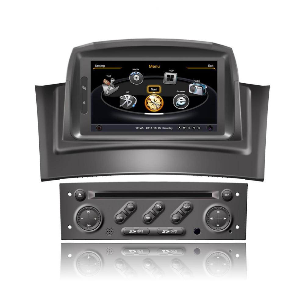 7 inch Car DVD Player Radio Gps Nav. For RENAULT MEGANE II 2006-2008 With GPS Navigation Radio RDS Bluetooth ,Free Map(China (Mainland))