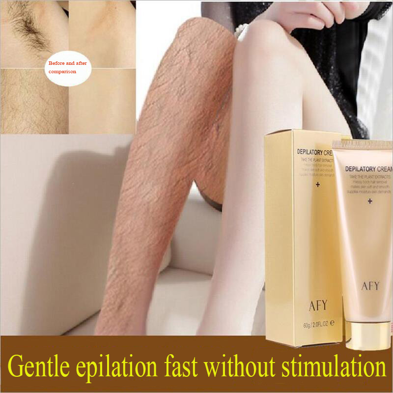 2017 New Hot Beauty profession Depilatory creams Unisex Armpit hand Leg Private office Mild pain Permanent hair removal cream