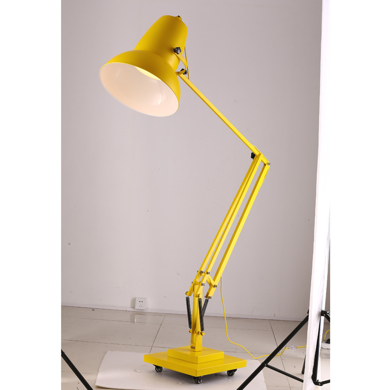 Hot anglepoise marsden engineering giant retro antique for Giant retro floor lamp the range