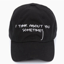 2016 new fashion CASQUETTE GIANNI MORA SUMMER NOTE SNAPBACK POLO CAP IAN CONNOR I THINK ABOUT YOU SOMETIMES LETTER BASEBALL CAP(China (Mainland))