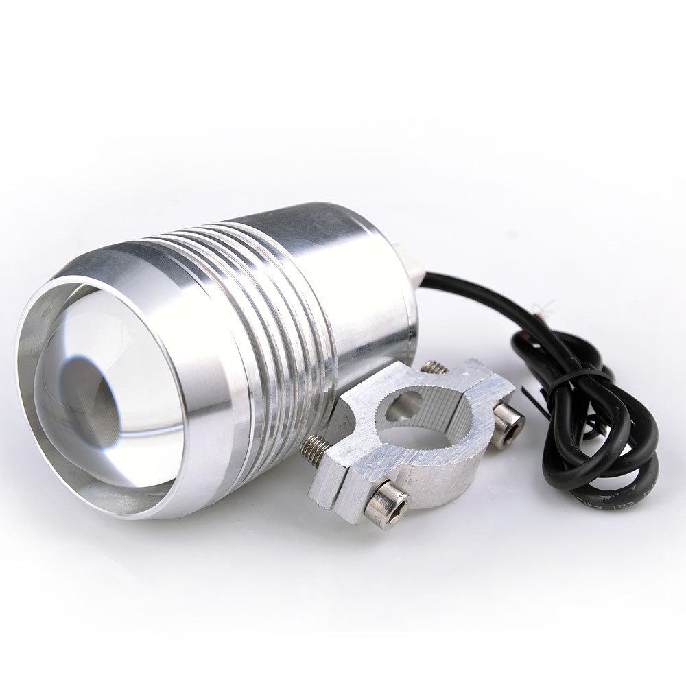 U2 CREE LED Motorcycle Headlight Head Lamp Day Light Laser Gun Cannons Fisheye Lens Motorbike Car Waterproof(China (Mainland))