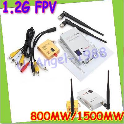 free shipping! FPV 1.2G Wireless 800mW 1500mw AV Transmitter And Receiver<br><br>Aliexpress