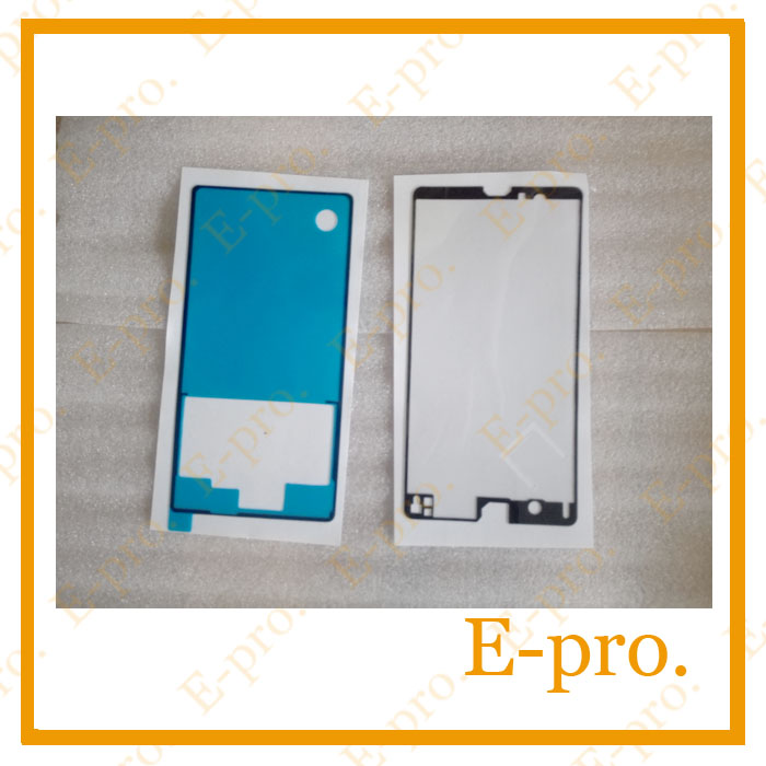 Housing Cover Back Sticker Sony Xperia Z L36h C6602 C6603 Front+Back Adhesive Glue Tape Repair Parts - E-Pro Electronic Co., LTD store