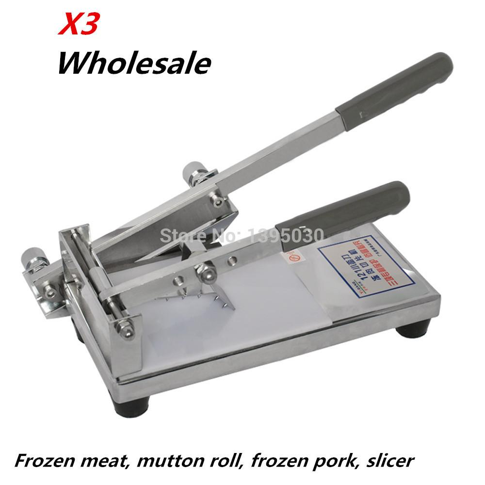 3PCS/LOT Newest! Universal cutting machine, medicine machine121B cutting bone machine, mutton machine, universal machine, Slicer<br><br>Aliexpress