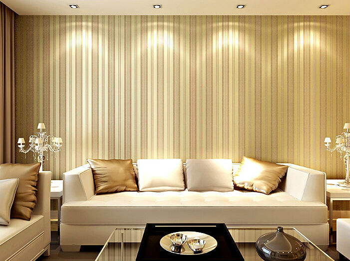 3d Papel De Parede Listrado Quarto Striped Wallpaper Roll Imported Living Room Contact Papel