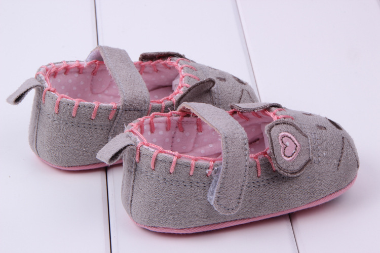 Free shipping Very Cute soft Little mouse princess baby shoes for girl and boy baby shoes 3 size to choose(China (Mainland))
