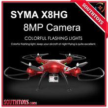 Nieuwste Syma X8HG wifi FPV RC drone Quadcopter met papegaai 8.0MP HD Camera RC quadricopter Opgewaardeerd X8G/X8W VS XK 350X4 H107D
