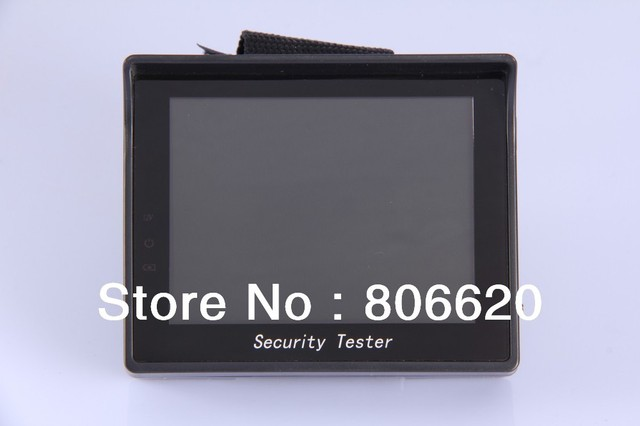 "3.5""  Portable  LCD CCTV Test Monitor with Wrist holder- Free shipping worldwide"