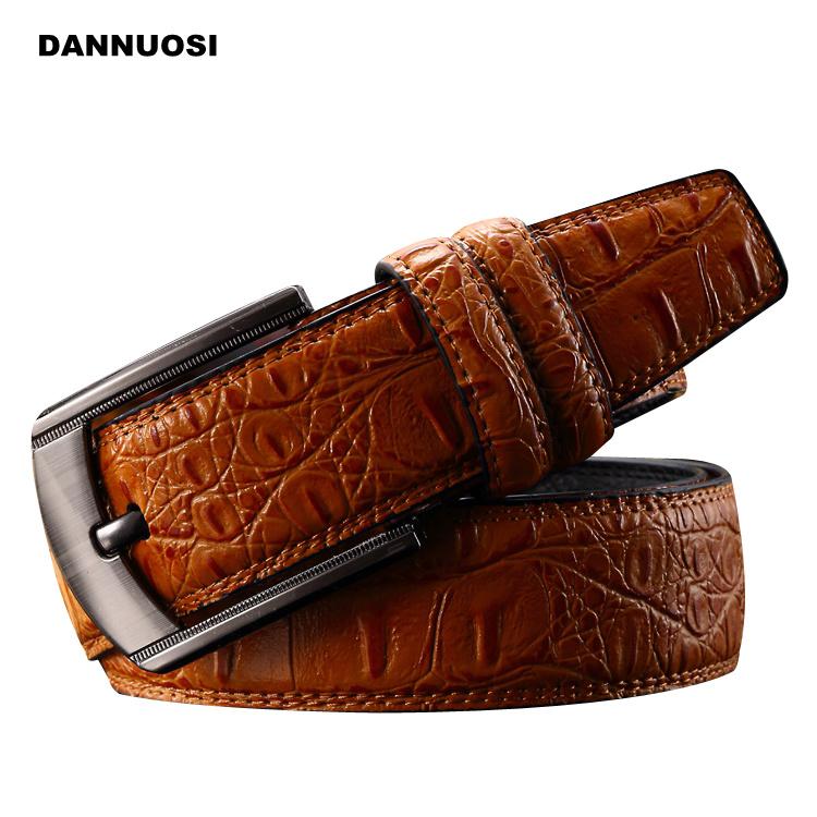 [DANNUOSI]2016 new wild leisure belt leather belt Men must brand of high quality men's leather belt embossing belt(China (Mainland))