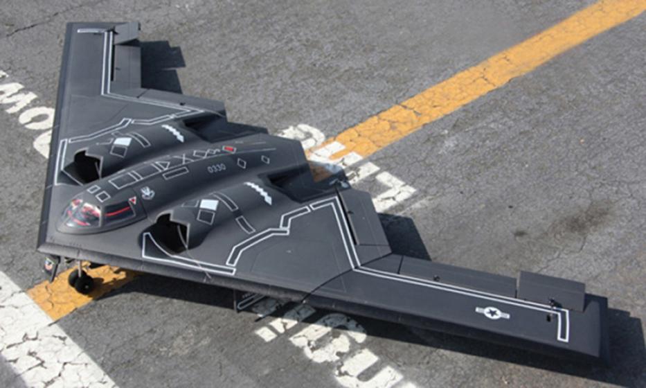 B2 Twin 64MM EDF Jet Airplane RC Model KIT W/O Servo Motor ESC(China (Mainland))