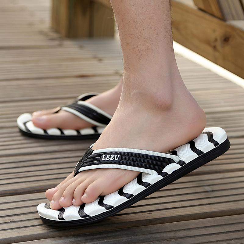 Big EU size:37-48 summer men flip flops Fashion casual sandals Oversized flip flops sandals High quality men's sandals 5 color