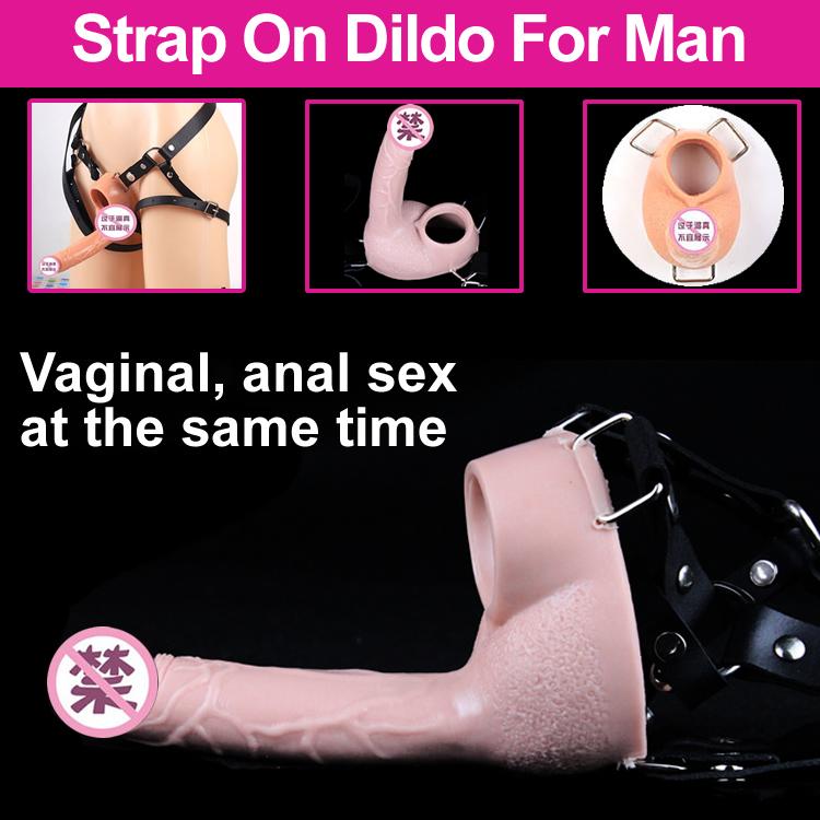 sexiga män strap on