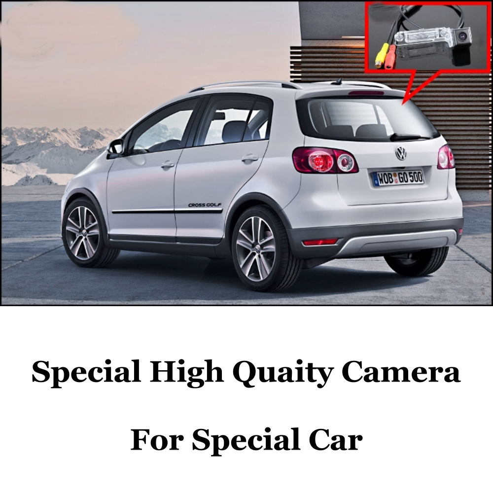 Car Camera VW Volkswagen Golf Plus / CrossGolf Cross Rear View Back Fans CCD + RCA - GrandTour Store store