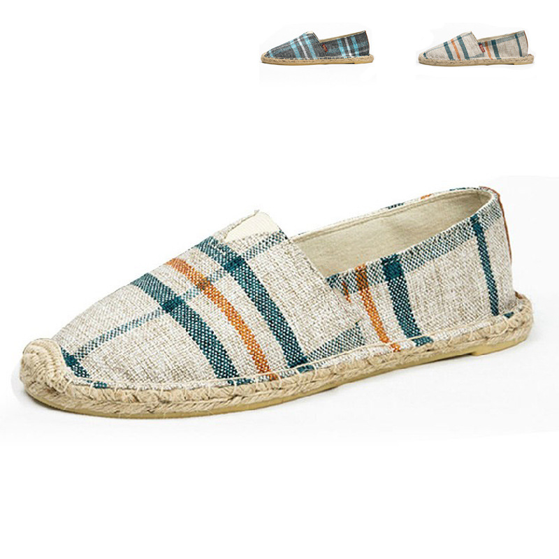 brand new striped canvas shoes casual shoes loafers