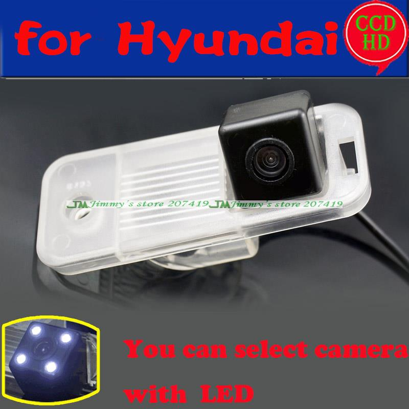 Car Rear View Camera / HD Back Up Reverse Camera / License Plate Lamp Plug & Play For Hyundai ix25 For Hyundai Grandeur(China (Mainland))