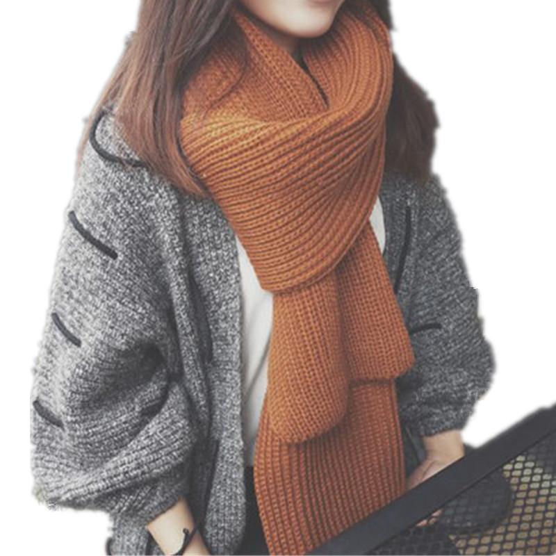 Вязание крючком модный зимний шарф-палантин 66
