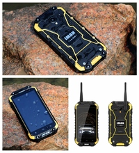 Yellow iMAN IP68 Waterproof 2G 32G MTK6592 1 57GHz 3G GPS Android Rugged Tri Proof Cell