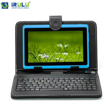 "Irulu eXpro 7 "" Tablet PC 8 GB Android 4.4 Tablet Quad Core 1024 * 600 HD Dual Cam 3 G WIFI externa Tablet w / teclado nuevo más caliente(China (Mainland))"