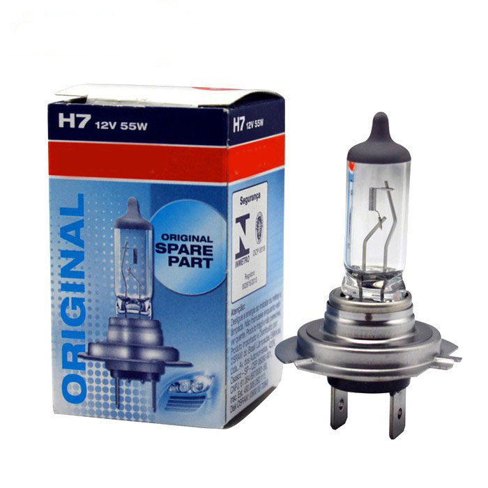 Free Shipping Halogen Xenon Car Light Bulb Lamp Cars Light Bulbs FOR OSRM H7 12V 55W TWO PIECES/ LOT(China (Mainland))