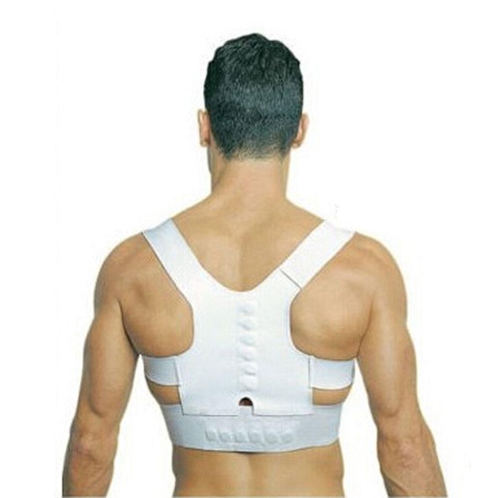 Power Magnetic Posture Humpback Support Corrector Back Brace Belt Magic strap XL HB88(China (Mainland))