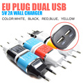 5V 2 1A USB Power EU Wall Adapter Mobile Phone Charger for iPad 2 3 4