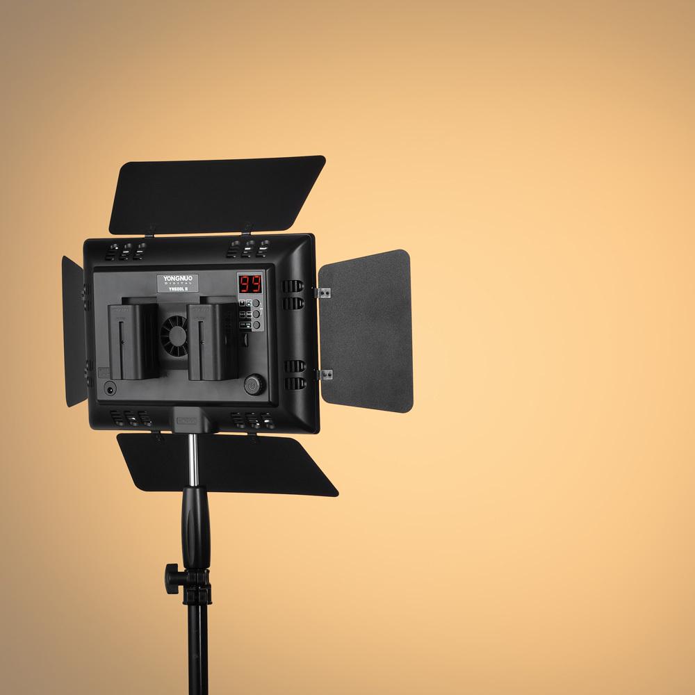 Би-Колор вспышка yongnuo YN600L II от 3200-5500k светодиодные лампы видео Группа ж 2.4 G и Bluetooth приложения беспроводной пульт дистанционного управления и высокий cri 95 СИД