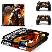 Vinyl Game Protective Skin Sticker for Sony PS4 Console + 2 Controller Skins For PS4 Stickers