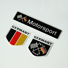 Buy 10 Pieces 3D Aluminum GERMANY FLAG Motorsport Sticker Flag Germany Car-Styling cars for $29.99 in AliExpress store