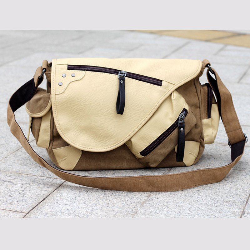 2015 New Fashion sytle men messenger bags quality canvas handbags multi pocket shoulder - ShenZhen Webuy E-Commerce Co., Ltd. store