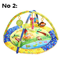 Cotton Play Gym Mat With Rack Baby Play Mats Educational Carpet Soft Puzzle Mat Game Blanket Pad Baby Toys Musical Crawling Mat(China (Mainland))
