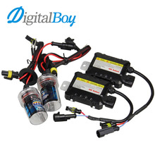 Buy DIGITALBOY 12V 55W H8/H9/H11 Xenon Bulb Kit HID Ballast Block Car Headlight Lamp 4300k 5000k 6000k 8000k 10000k Light Source for $19.60 in AliExpress store