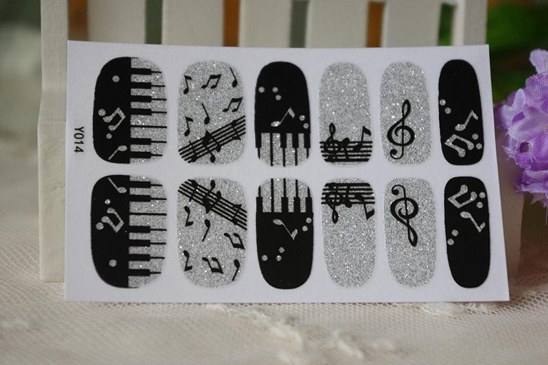 Наклейки для ногтей RocooArt Y5014