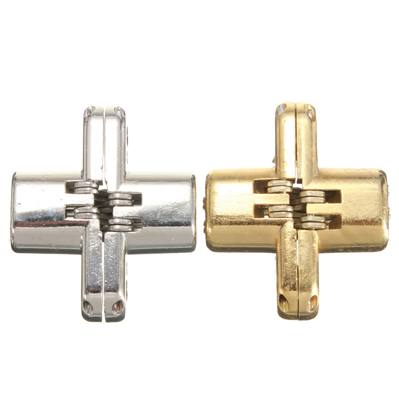 New Arrival High Quality 2pcs/Set Hidden Stainless Steel Invisible Concealed Door Hinge for Jewelry Box Silver/Gold(China (Mainland))