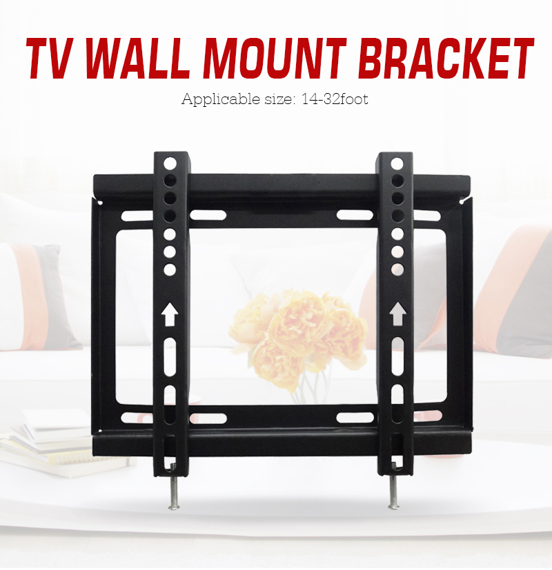 Led Tv Wall : Oversea Lcd Led Tv Wall Mount Bracket Support for LCD LED 14 19 22 23 ...