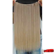 mega hair acbelo sintetico haar extension secret extensions straight false cheveux flip in 20 inch 50g clay color 27 and 613