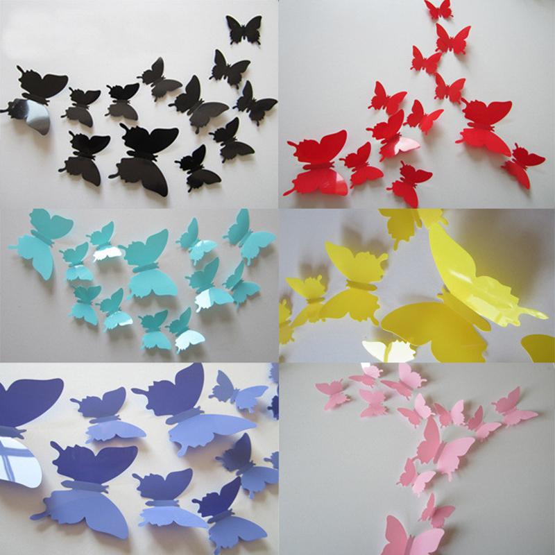 Украшение на стену бабочки
