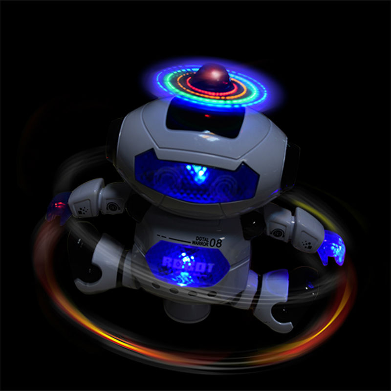 RC Robot Electric Smart Space Walking Dancing with Light Music Cool Astronaut Children Stunt action figure Toy Gift(China (Mainland))